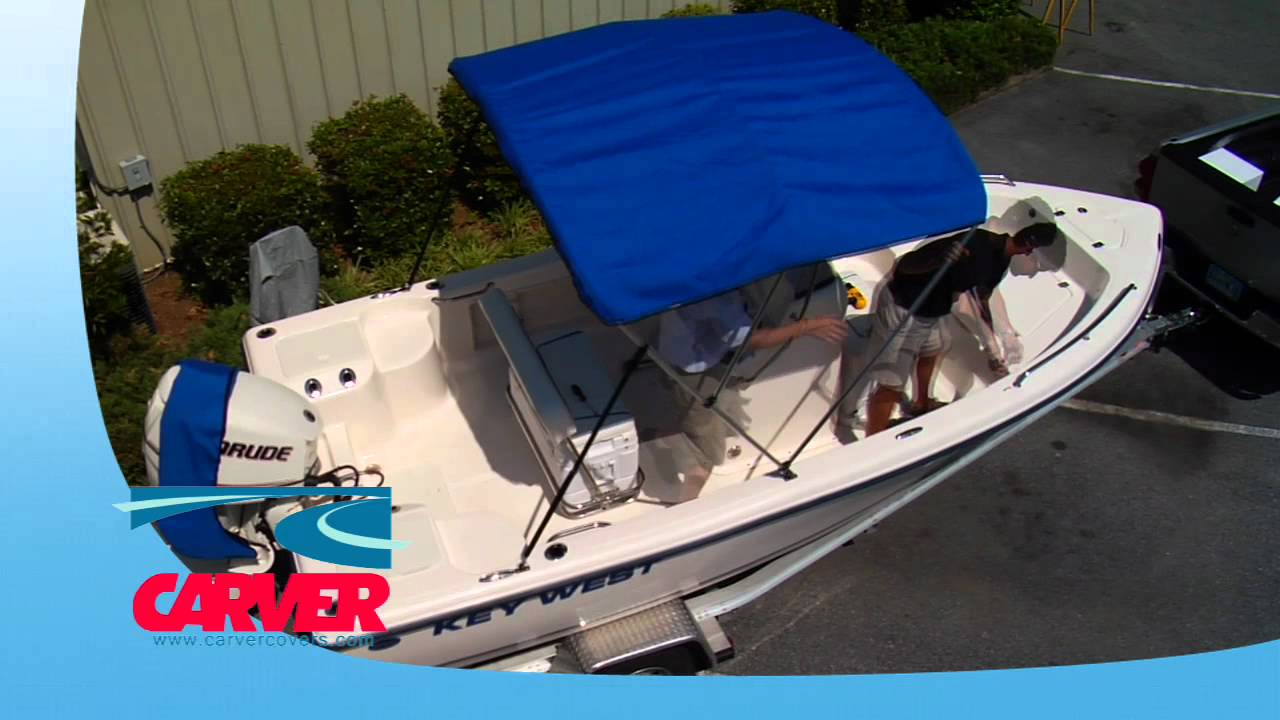 Carver Covers  - How To Install a Bimini Top