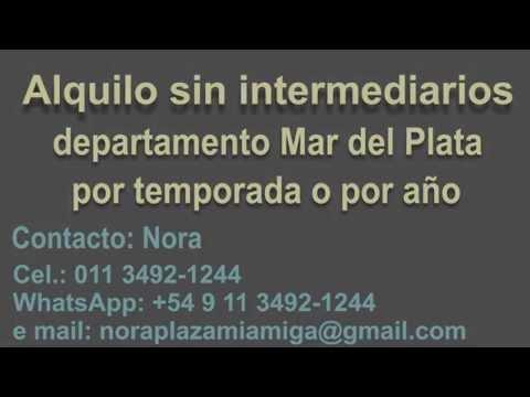 Alquilo Departamento en Mar del Plata