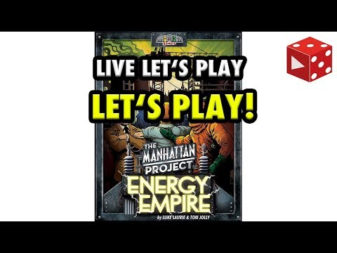 Manhattan Project: Energy Empire - Let's Play - Live Let's Play Mitschnitt