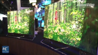 Dual-screen phone, curved TV: Avant-garde tech at CES 2018