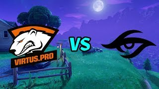 Virtus Pro VS Team Secret - HURMA,7SSK7,JAMSIDE,PRESTIGE/FORTNITE POP UP CUP