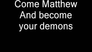 Secret Rivals - Tonight Matthew [lyrics]