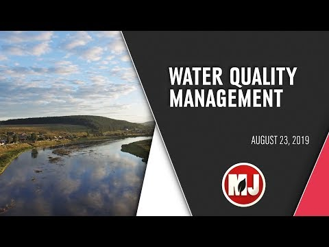 Water Quality Management | August 23, 2019