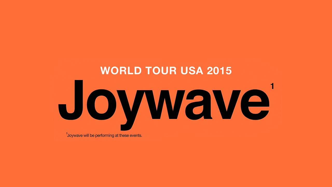 Joywave world tour usa 2015 house music youtube for World house music