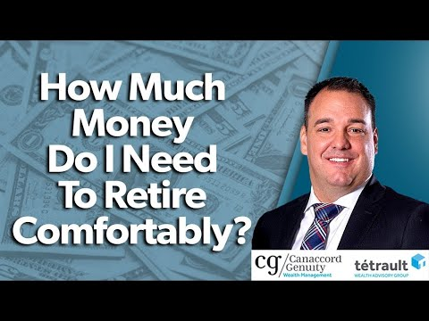 How Much Money Do I Need To Retire Comfortably?