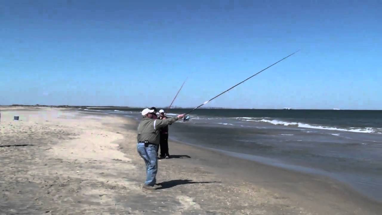 "cts: 12 foot 3-6oz ""vapor trail"" surf fishing rod - youtube, Fishing Reels"