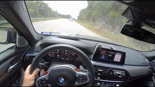 2019 BMW M5 F90 Competition - POV Drive