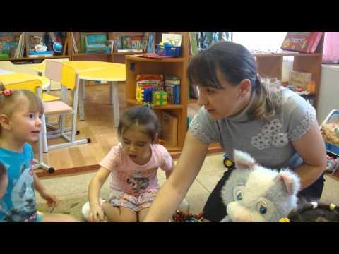 Видео фрагмента образовательной деятельности, проявление речевой активности детей