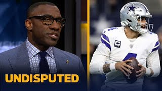 Shannon Sharpe agrees Dak is the No.1 free agent — not Tom Brady | NFL | UNDISPUTED