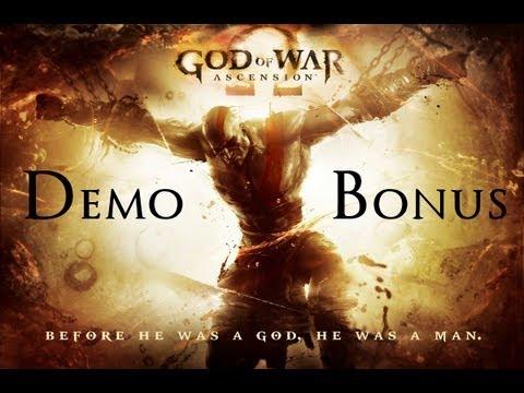 God Of War Ascension - Demo Bonus Features