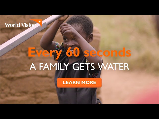World Vision: Give the Gift of Water