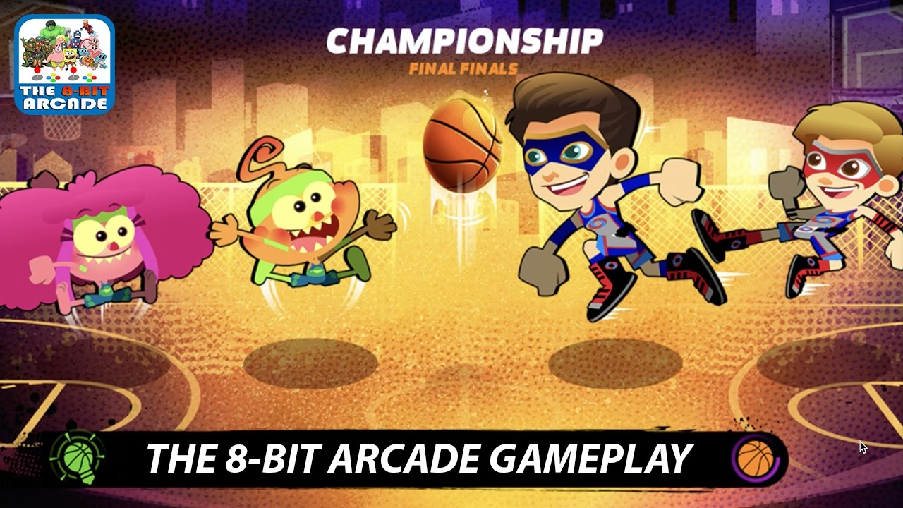Nick Basketball Stars 2 - Foo Swallows The Ball And Takes It To The Basket  (Nickelodeon Games)
