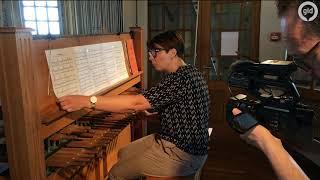 Tribute aan Avicii Stevenskerk Nijmegen   Tribute to Avicii by carilloneur Malgosia Fiebig in Church