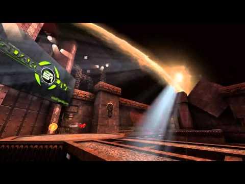Wolfcam Quake Live - EPIC chroma key / ''green screen'' example.