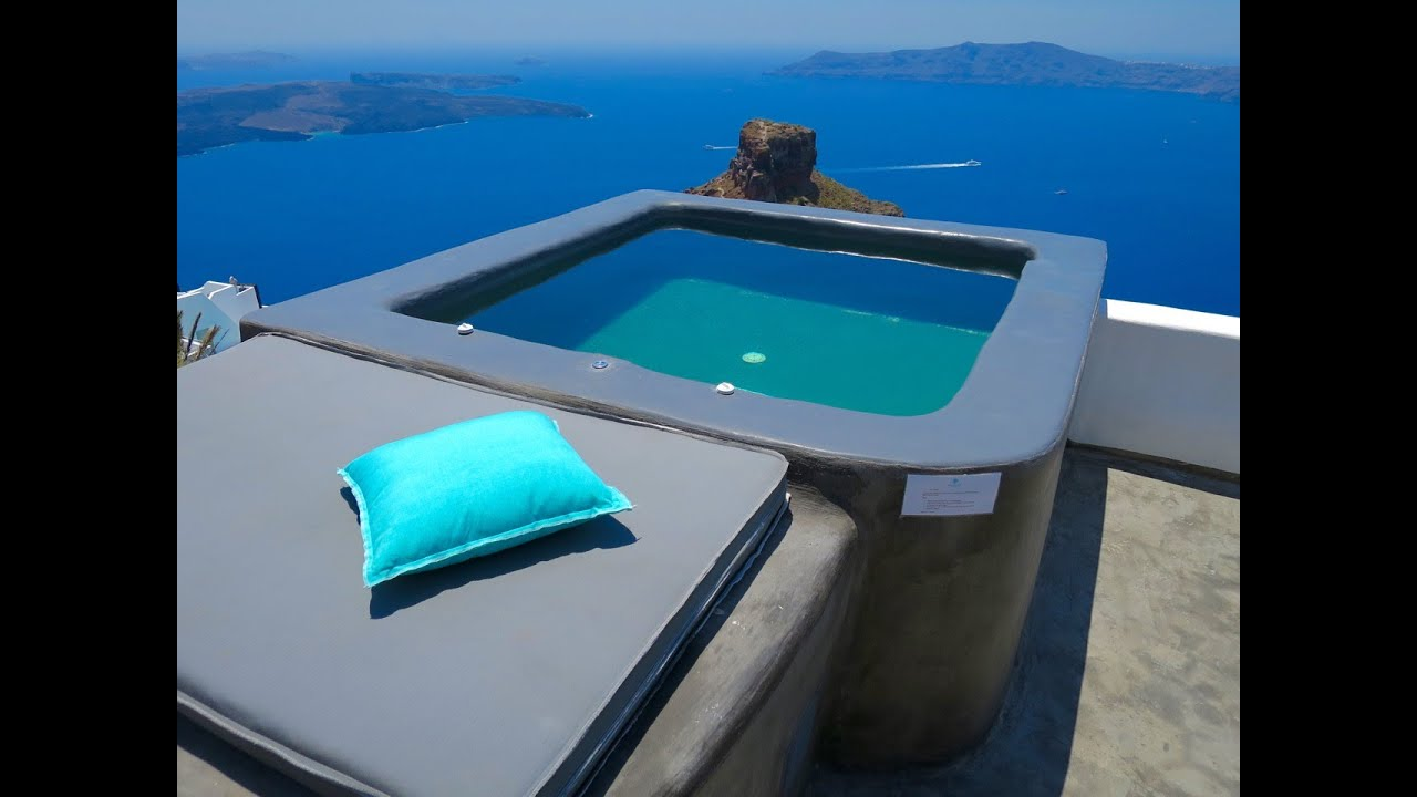 Sophia Suites Santorini : Honeymoon suite u sophia suites u santorini youtube