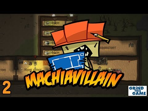 MachiaVillain Gameplay #2 - Workshop / Factory in the Haunted Mansion
