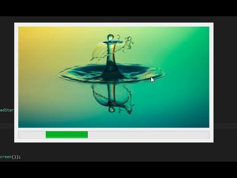 How To Create Splash Screen In C# Windows Application