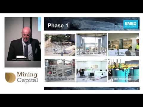 EMED CEO Lavandeira updates on Rio Tinto mine