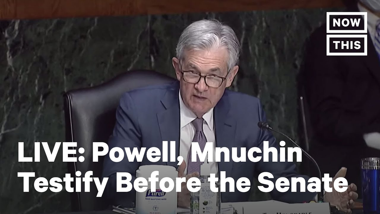 Fed Chair Powell, Treasury Sec. Mnuchin Testify Before the Senate Banking Committee | LIVE | NowThis