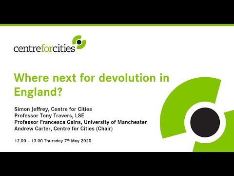Where next for devolution in England?