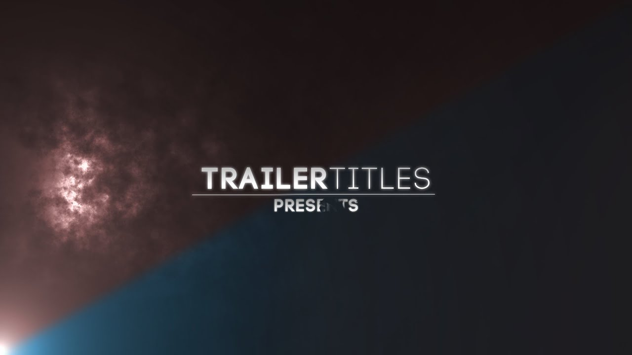 adobe after effects title templates free - adobe after effects trailer titles editing pack v 1