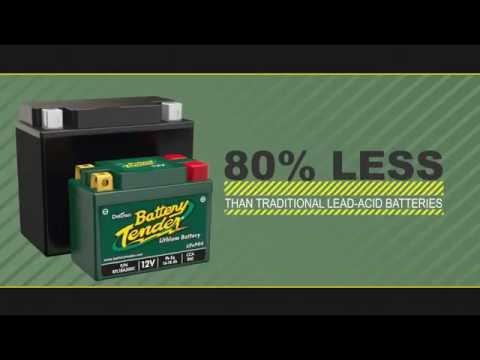 Batteries For Less >> Deltran Batterytender Lithium Batteries More Power Less Weight