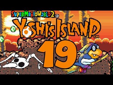 Let's Play Yoshis Island Part 19: Kameks Höllenritt