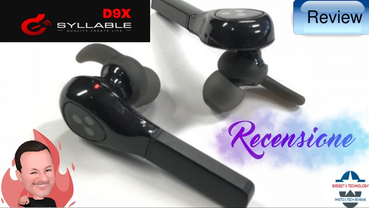 Bluetooth Headset Syllable D9X Wireless Headphones Bloothooth Sport  Separate Batteries Bluetooth 4.2 67abdba69c7a