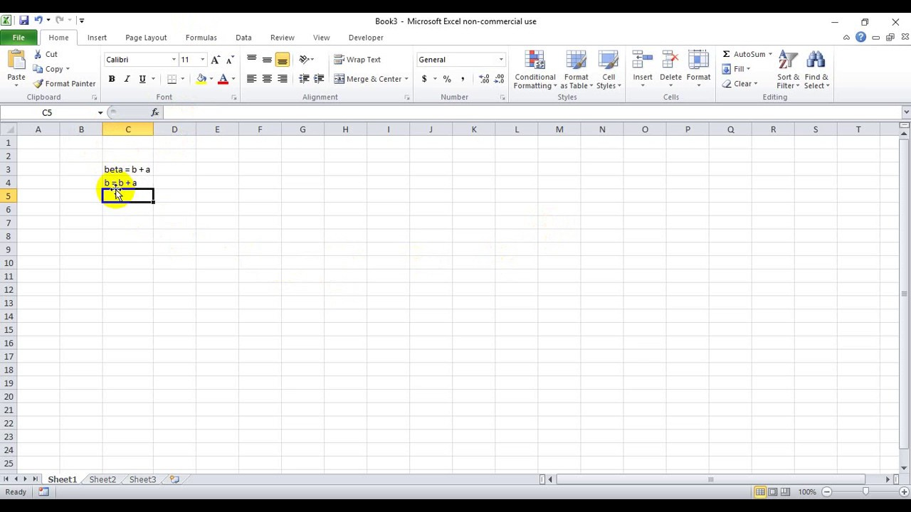 How To Write Beta Symbol In Excel Youtube