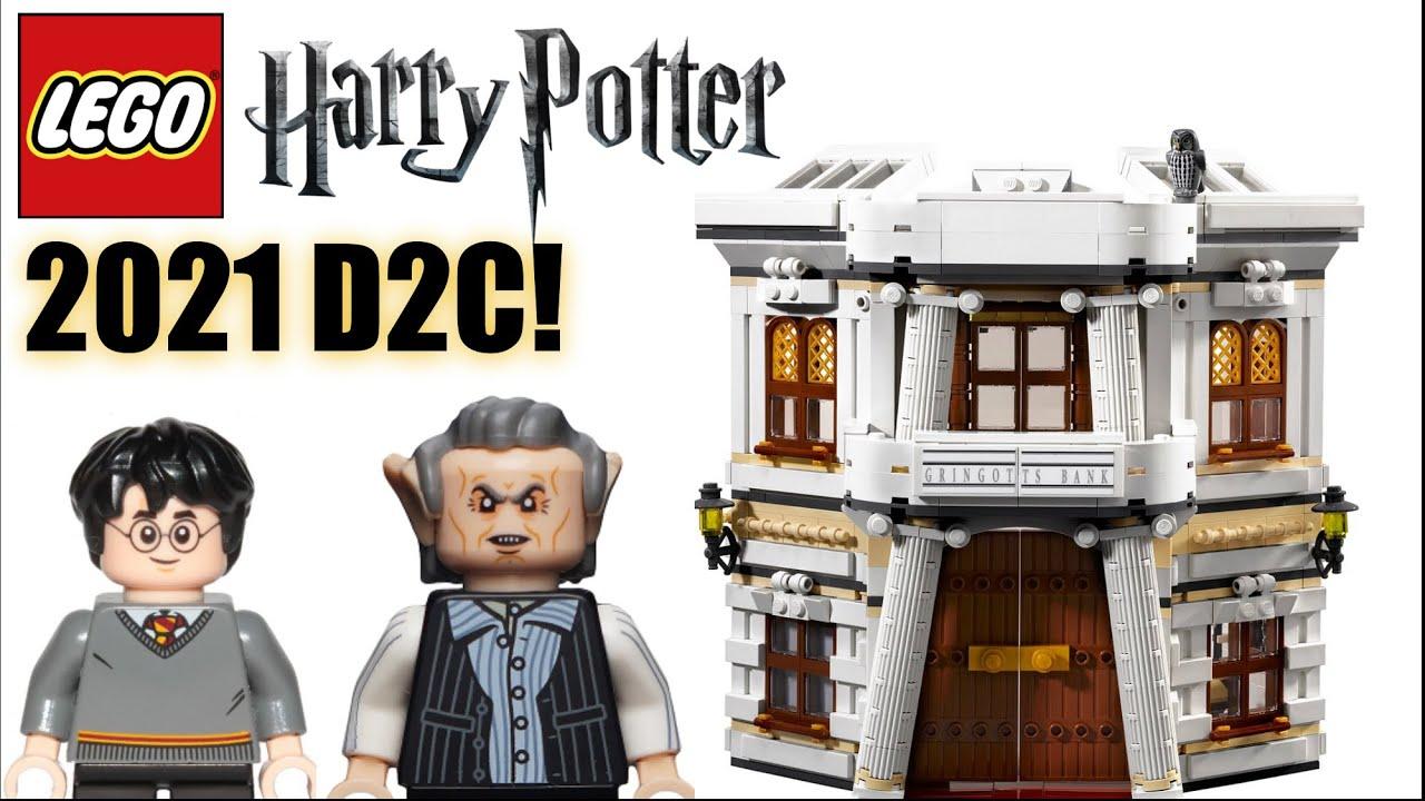 Lego Harry Potter 2021 D2c Leaks Rumors And Speculation Gringotts Bank Youtube