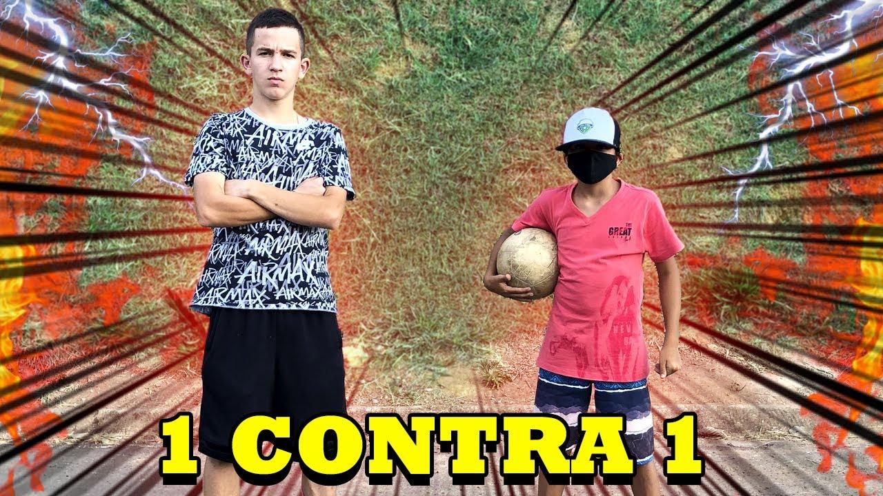 O FÃ CHATO ME DESAFIOU NO 1 CONTRA 1 !!! (QUEM VENCEU ???)