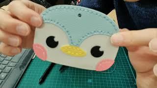 [6학년][실과] 가죽 카드지갑 만들기