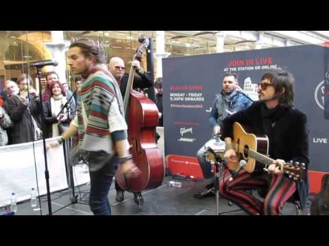Rival Sons - You Want To - The Station Sessions - St. Pancras International Train Station, London