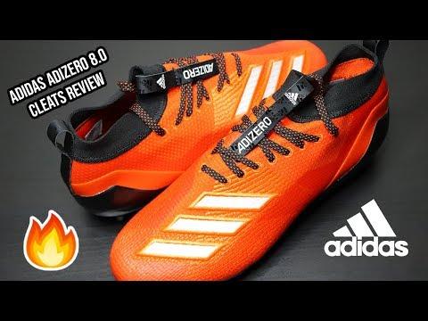 Adidas ADIZERO 8.0 | Cleats REVIEW