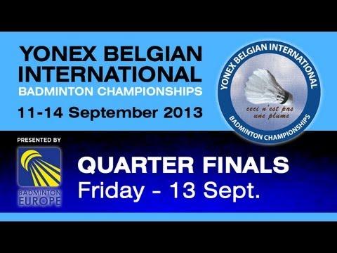 QF - XD - R.Blair/I.Bankier vs N.Nohr/S.Thygesen - Yonex Belgian International 2013