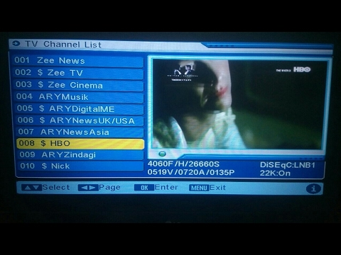 Asiasat New Chanal Add || MPEG2 Riciver Chanal Auto Scanning