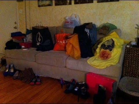 Mega haul Fall 2012! New York, Miami, France, Ebay, H&M, Shoe Dazzle and a wholeee lot more!