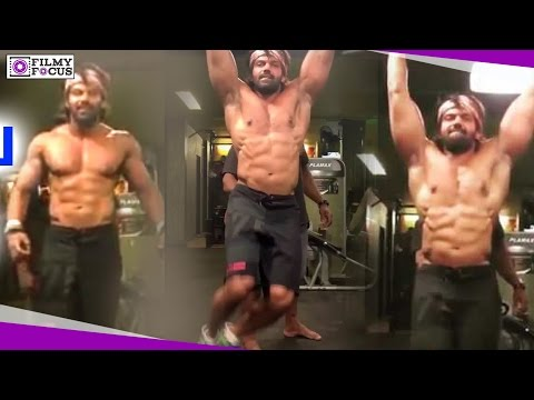 Kadamban Actor Arya Gym Workout || Kadamban || Arya || Yuvan Shankar Raja