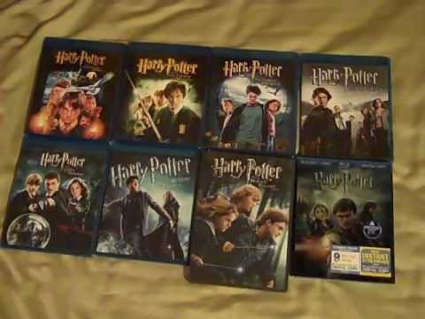 harry potter complete on dvd blu ray youtube. Black Bedroom Furniture Sets. Home Design Ideas