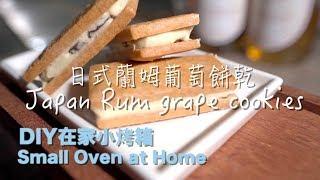 《Small Oven小烤箱》Japan Rum Grape Cookies日本萊姆葡萄餅乾 Basic Baking烘焙基礎在家做簡單學零失敗 Daddy