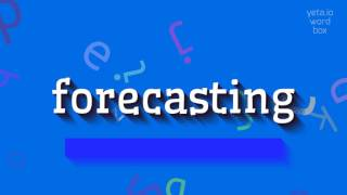 Download lagu How to sayforecasting MP3
