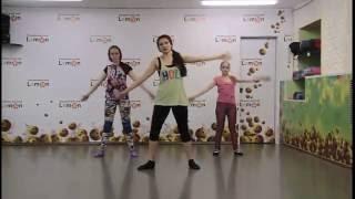 Урок современного танца с клубом Lemon, классный танец)))