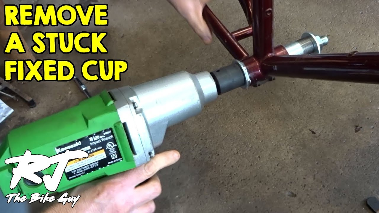 Stuck Stubborn And Always Right >> How To Remove Stuck Seized Frozen Bottom Bracket Fixed Cup