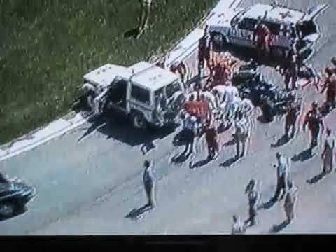 Roland Ratzenberger fatal crash San Marino grand prix 1994 full