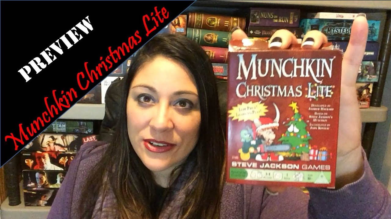 Munchkin Christmas Lite Preview - YouTube