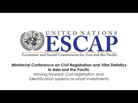 CRVS - Moving forward: Civil registration and identification systems as smart investments
