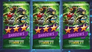 opening out of the shadows pack   teenage mutant ninja turtles legends gameplay episode 13