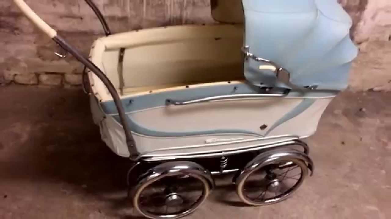 renovating a vintage svithun stroller youtube