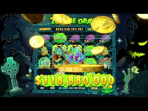 Zombie Grave Slot on DoubleU Casino. Best Free Casino. - 동영상