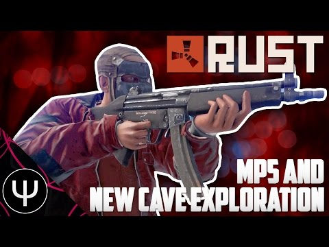 Rust — MP5 and New Cave Exploration!
